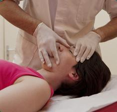 Tratamento osteopático da dor de cabeça